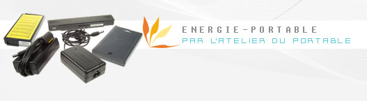 Energie portable batteries et alimentations d'origines